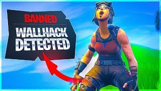 WALLHACK DETECTED?! SOLO 20K Game - Fortnite
