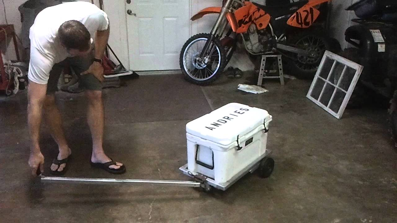 Built a cart for my yeti  YouTube