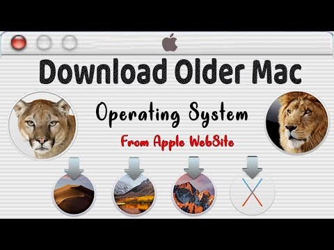 Download Older Version Of Mac Operating Systems Direct From Apple / Download Previous MacOS Free
