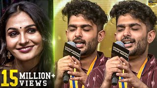 Sid Sriram Live Performance Andrea s Reaction You will Watch in Repeat Mode