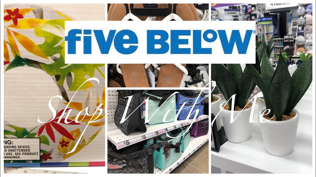 5 BELOW ~ SHOP WITH ME ~ SUMMER ITEMS AND...JUST FUN!