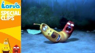 official strange larva 1 - fun clips from animation larva