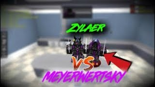1V1 AGAINST MEYERWERTSKY(Roblox Assassin)