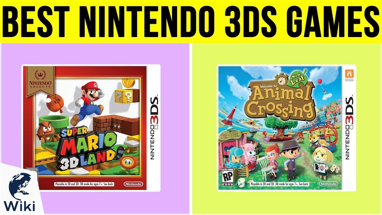 10 Best Nintendo 3ds Games 2019 Youtube