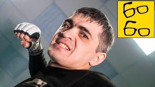 Добивание и защита в партере в ММА — урок смешанных единоборств Тимура Дудаева /MMA Ground and Pound(Центр спортивных единоборств