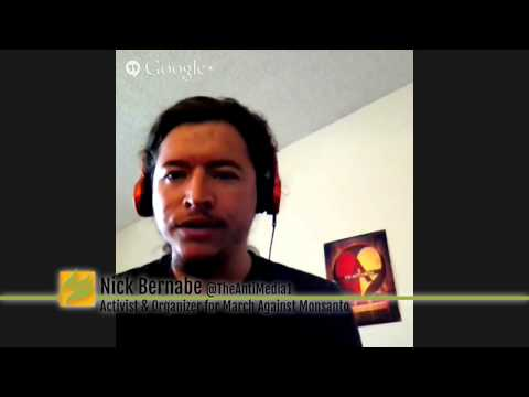 #MintCasts: GMO labeling, Monsanto & March Against Monsanto; Mnar Muhawesh Interviews Nick Bernabe