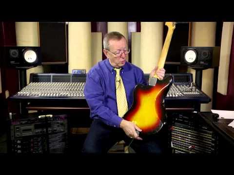 Fender Jazzmaster Pro Setup Brown Original Case 1963 Sunburst