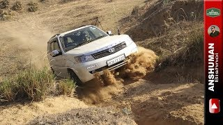 Duster AWD, Storme 400 4x4, XUV-500 AWD, Fortuner, Gypsy: Offroad obstacle 1. 1Apr2017