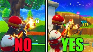 HOW TO DO MORE DAMAGE IN FORTNITE! HOW TO BE A SHOTGUN GOD FORTNITE TIPS AND TRICKS!