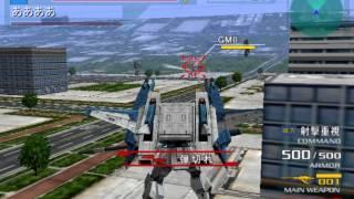 Kidou Senshi Z Gundam AEUG Vs Titans Gameplay HD 1080p PS2