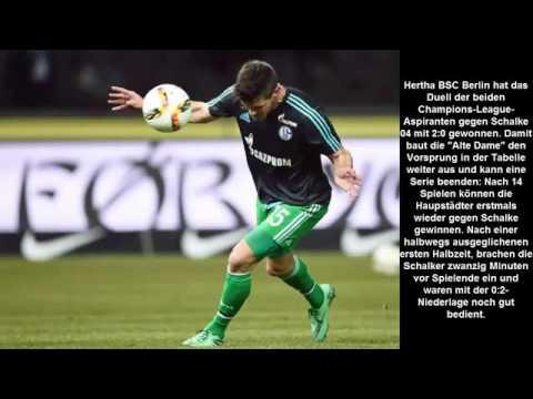 Hertha BSC Berlin vs FC Schalke 04 2 0 • Hertha gewinnt den Kampf um Platz drei