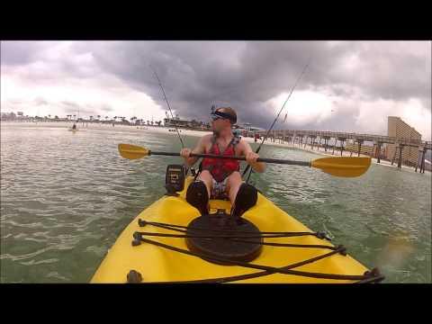 GoPro HD Ocean Kayaking - Paddle Through The Surf