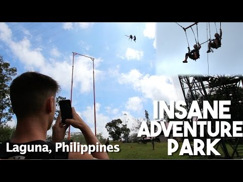 Secret Hidden Adventure Park in the Philippines (Laguna Province)