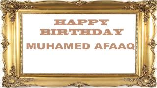 Muhamed Afaaq   Birthday Postcards & Postales - Happy Birthday