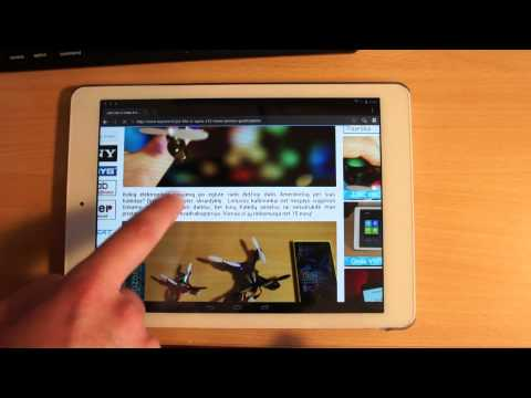 DuOS: Android emulator on Windows 8.1 tablet - demo with Onda V975W