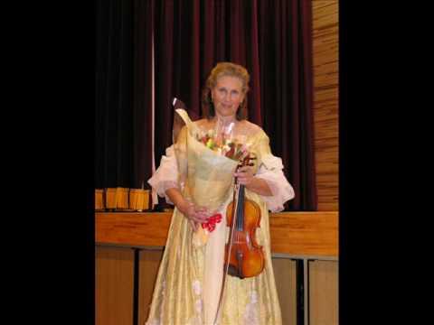 Jela Spitkova - Albinoni Violinkonzert part 2