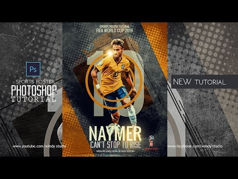 Sports Poster Design l Naymer Retro Design