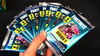 10 BOOSTER PACK OPENING 😱🔥 Panini Fortnite Series 1