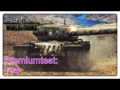 Stiftung Premiumtest: T34 [World of Tanks -  Gameplay - Deutsch]