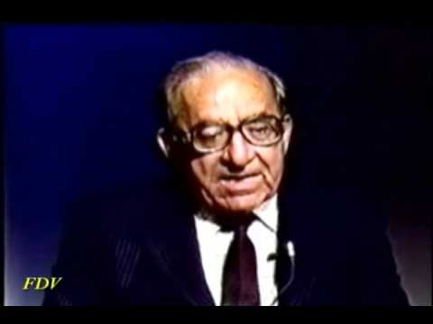 Former Prime  Minister of Malta Dom Mintoff and Fred part 1 of 3 .wmv