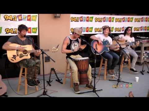 Emblem 3 - Rip Tide Live At Border Media Studios in San Antonio Texas