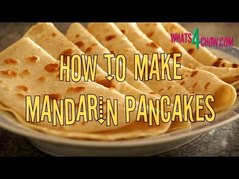 How to Make Mandarin Pancakes. Authentic Mandarin pancake recipe