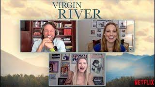 NEW! VIRGIN RIVER Season 3 Interview! Alexandra Breckenridge and Martin Henderson