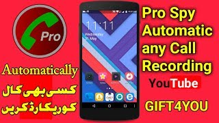 Video How to Automatic Spy Any Call Recording ,Save Project and Voice,Best android app Review GIFT4YOU download MP3, 3GP, MP4, WEBM, AVI, FLV Mei 2018