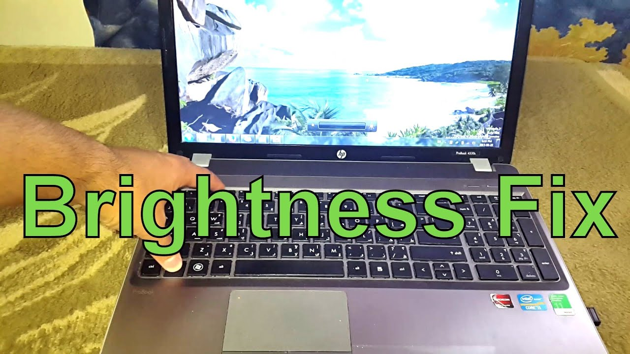 How to make my screen brighter windows 10 - How To Fix Laptop Change Screen Brightness Slider Control Problem After Youtube