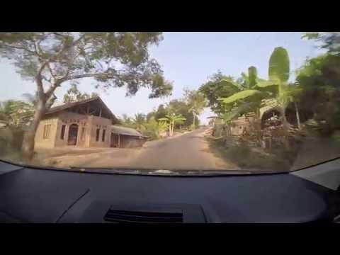 Jalur Wisata Pelabuhan Ratu - Pantai Sawarna Sukabumi Jawa Barat
