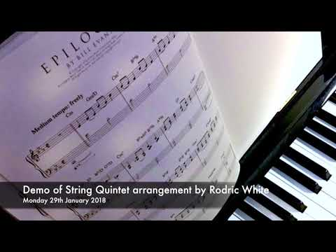 'Epilogue' by Bill Evans (arranged for Strings by Rodric White)