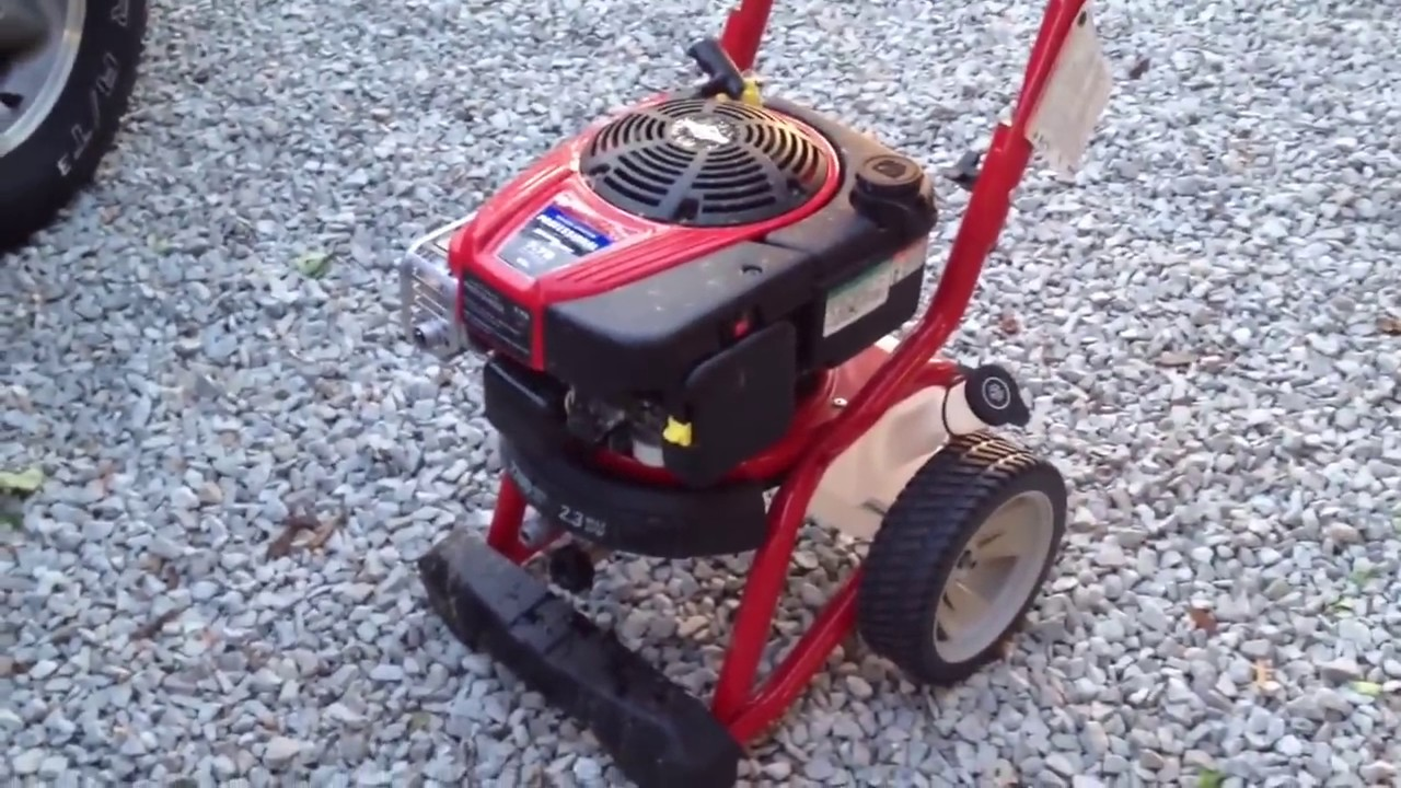 Troy Bilt 2700 Psi Pressure Washer From Lowes Fail Fail