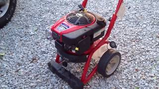 TROY BILT 2700 PSI PRESSURE WASHER FROM LOWES...FAIL FAIL FAIL