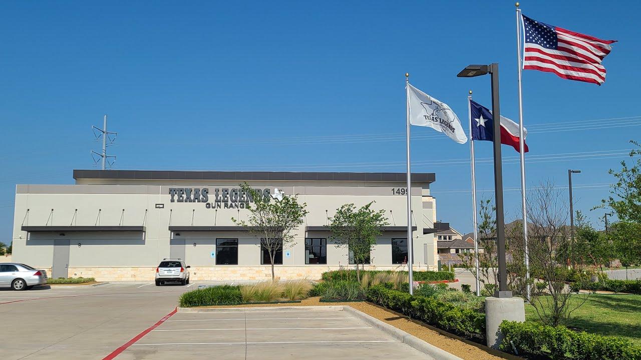 Texas Legends Gun Range and Training Center in Allen is Finally Open!