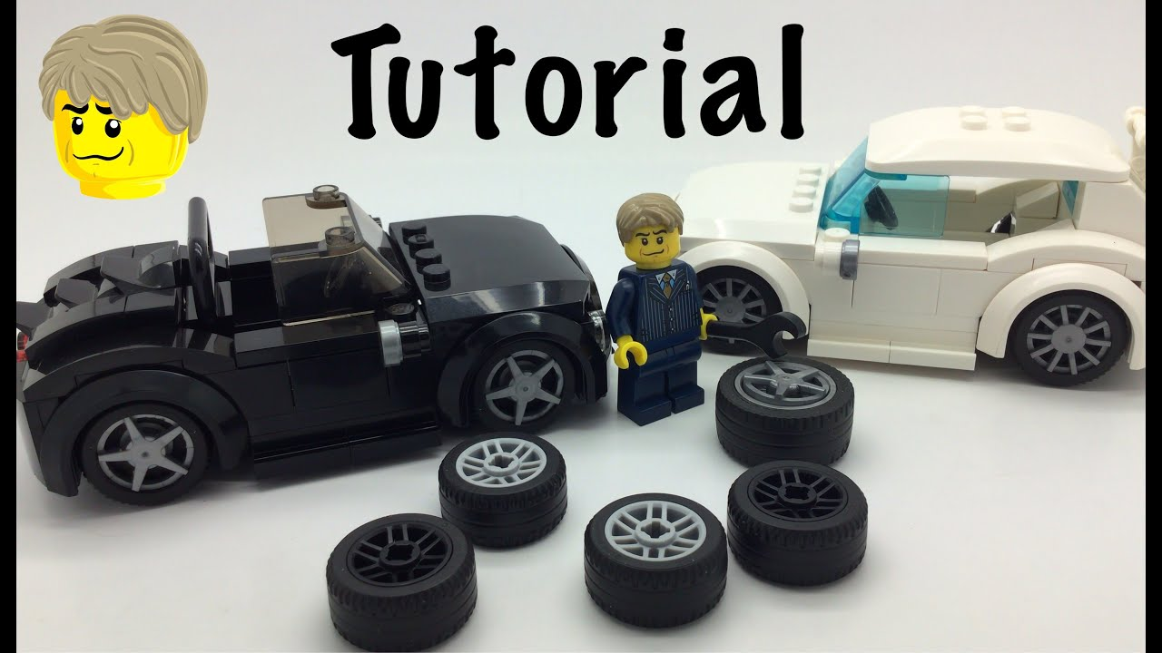 Lego Custom Wheels🚗 Tutorial Youtube