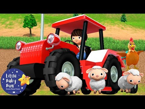 Tractor Song | Tractor Song for Kids | BRAND NEW! | Nursery Rhymes & Kids Songs | Little Baby Bum