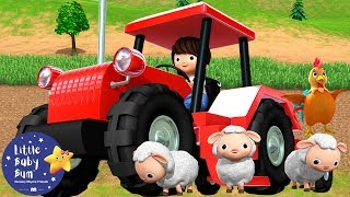 Tractor Song | Tractor Song for Kids | Nursery Rhymes & Kids Songs | Learn with Little Baby Bum