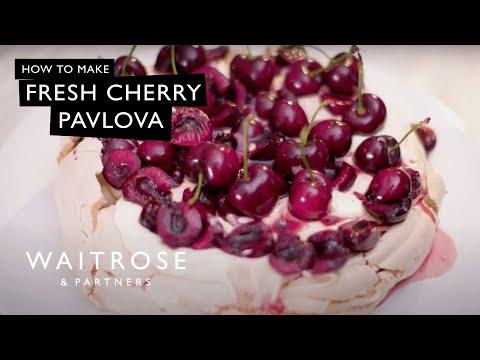 Fresh Cherry Pavlova | Waitrose