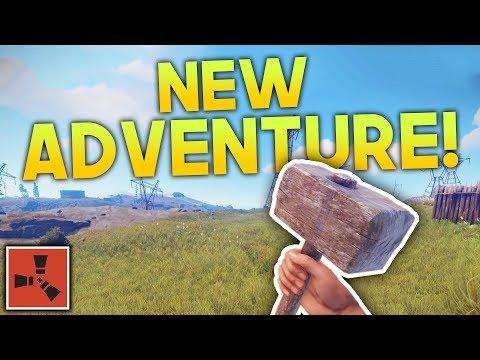 NEW ADVENTURE!! | Rust SOLO Gameplay #1 | S2