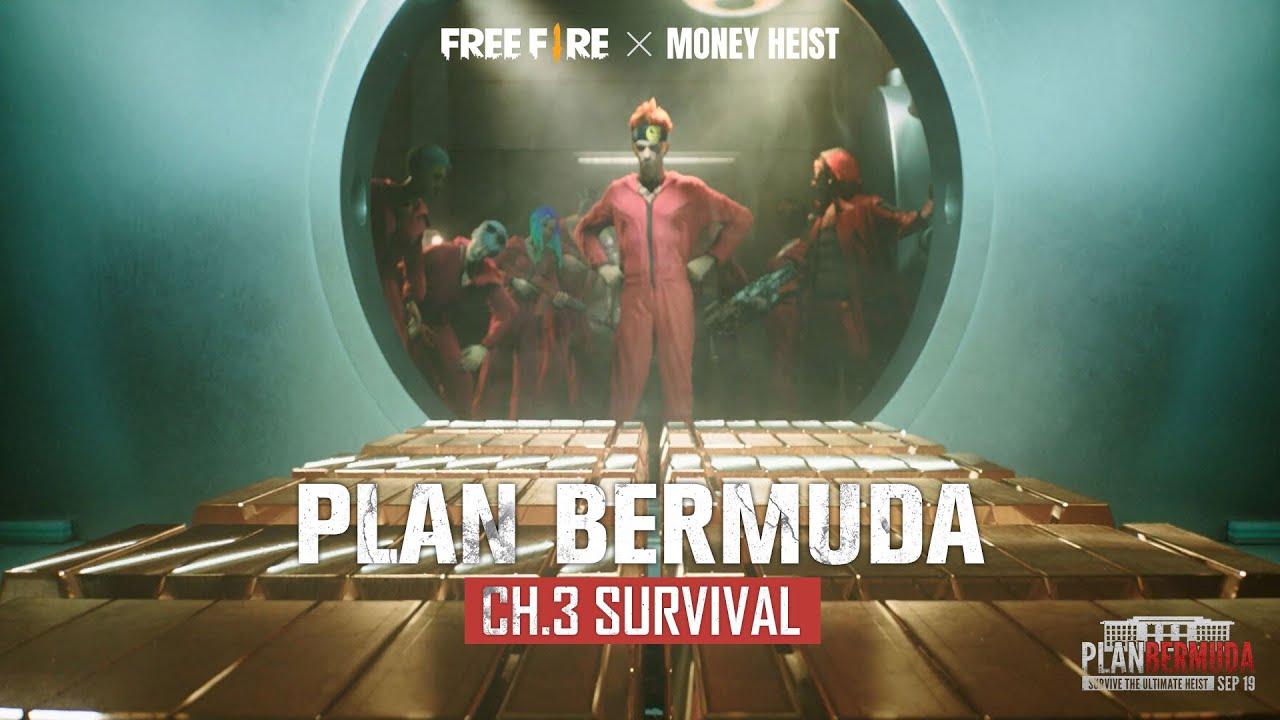 Inilah Plan Bermuda Yang Sebenarnya!   Free Fire x Money Heist