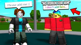 I Followed YOUTUBERS UNDERCOVER To See How NICE They Are.. (Roblox)
