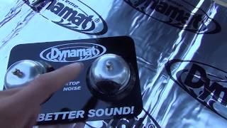 Car Audio #13 Jak dział DYNAMAT XTREME.
