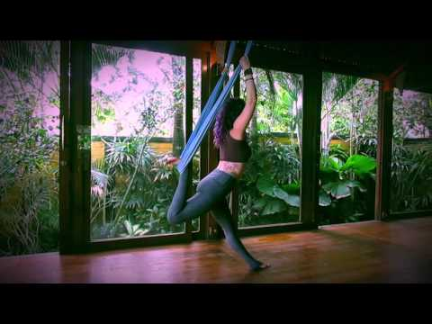Aerial Yoga Vinyasa Sequence