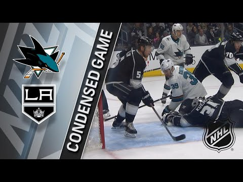01/15/18 Condensed Game: Sharks @ Kings