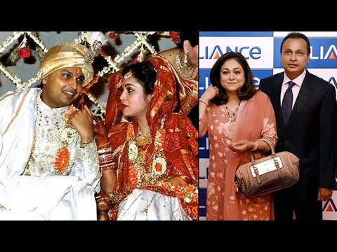 The Beautiful Love Story Of Anil Ambani And Tina Munim