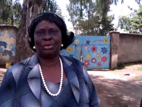 Mama Justine greeting from Nakuru 22.10