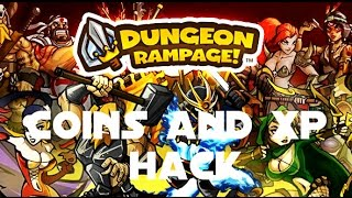Dungeon Rampage - Coins and XP hack