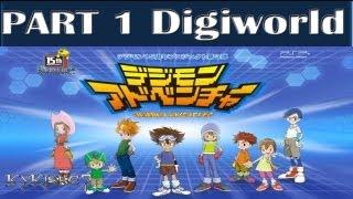 "Digimon Adventure (PSP) - Walkthrough P.1 -Opening ""Digievo. Greymon-BOSS: Shellmon"""