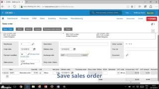 Picking Process Exact Online barcode scanner BizBloqs