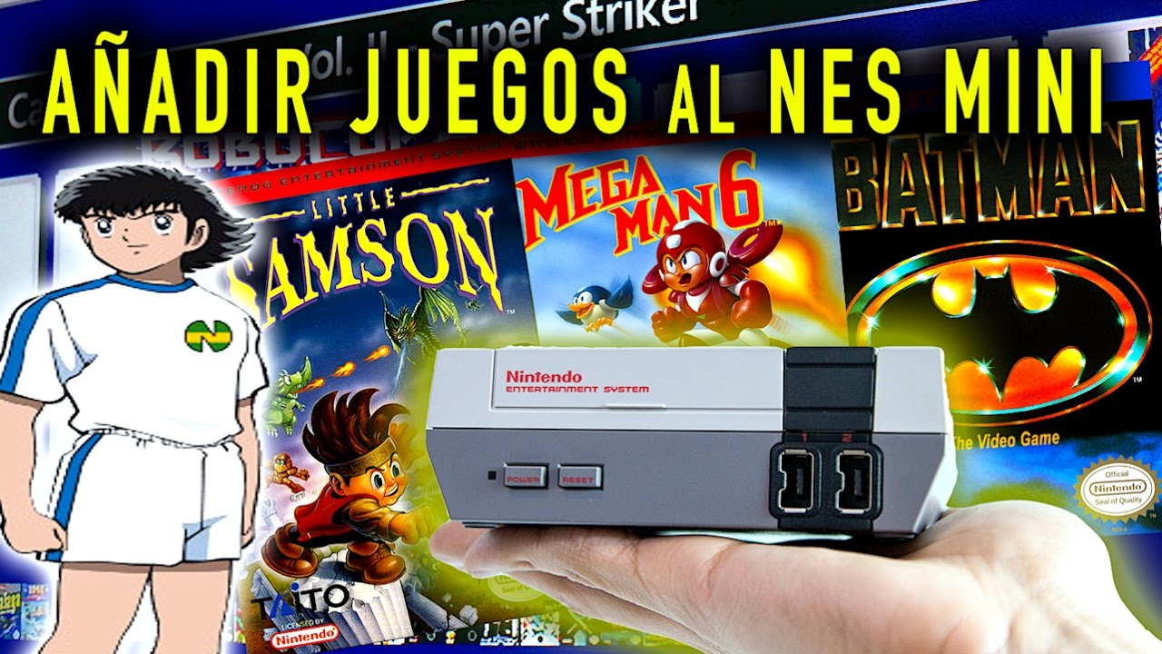 Como Anadir Juegos A La Nes Classic Mini Tutorial Youtube